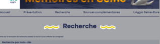"RECUEIL ""Mémoires en Seine"""